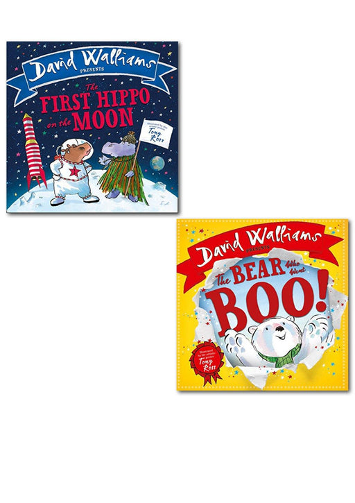 0-5 - David Walliams Children Picture Book Collection 2 Books Illustrated - Ages 0-5 - Hardback - Tony Ross Deluxe Hardback