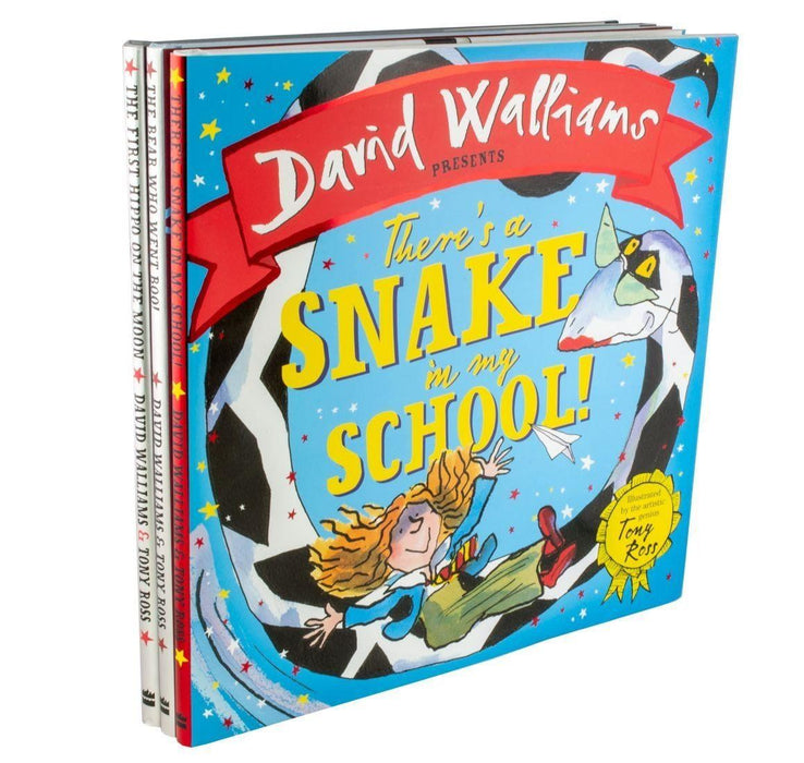 David Walliams Children Picture Book Collection 3 Books Illustrated - Ages 0-5 - Hardback -  Tony Ross Deluxe Hardback - Books2Door
