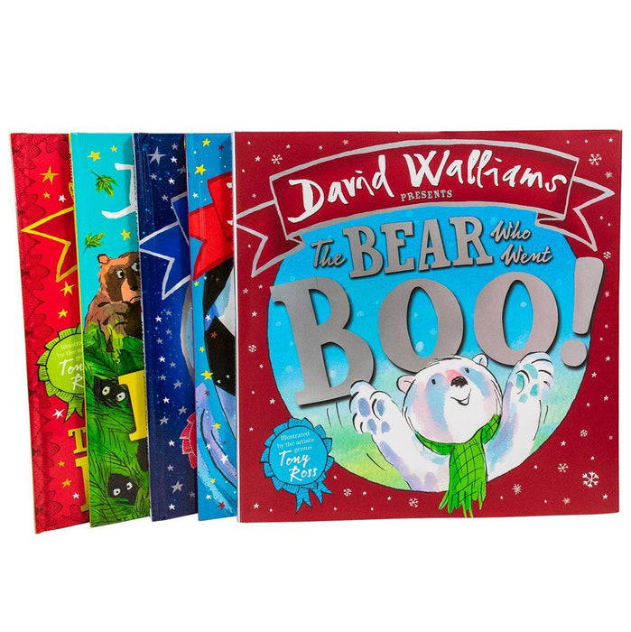 David Walliams Children Picture Book Collection 5 Books Illustrated By Tony Ross Deluxe - Ages 0-5 - Hardback - Books2Door