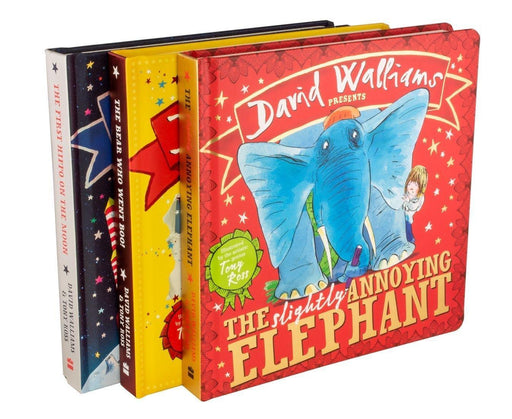 David Walliams Presents 3 Board Books Colletion - Books2Door