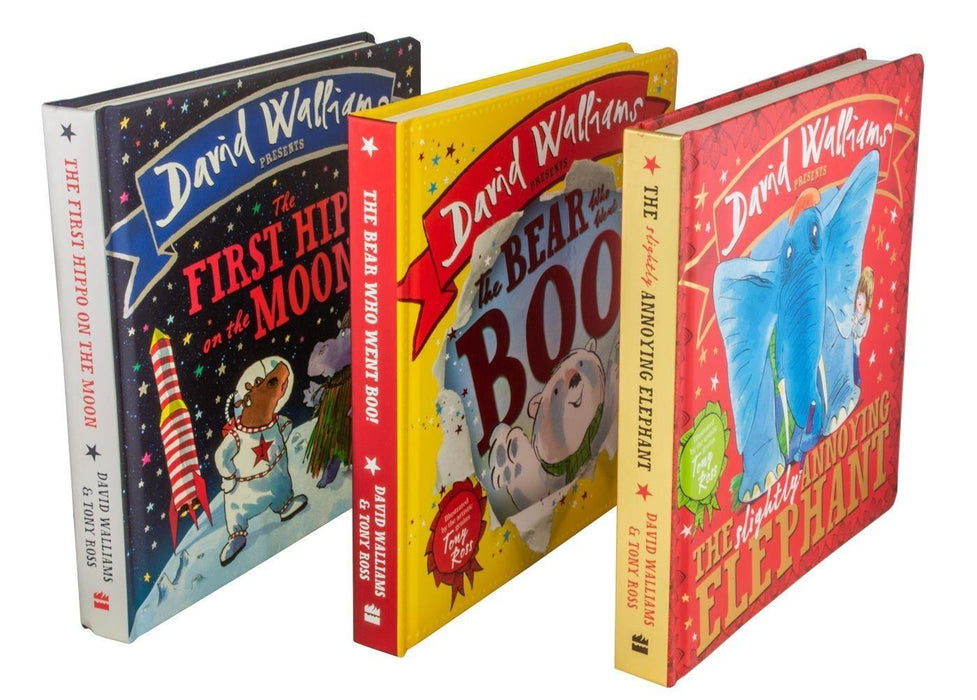 David Walliams Presents: 3 Board Books - Books2Door