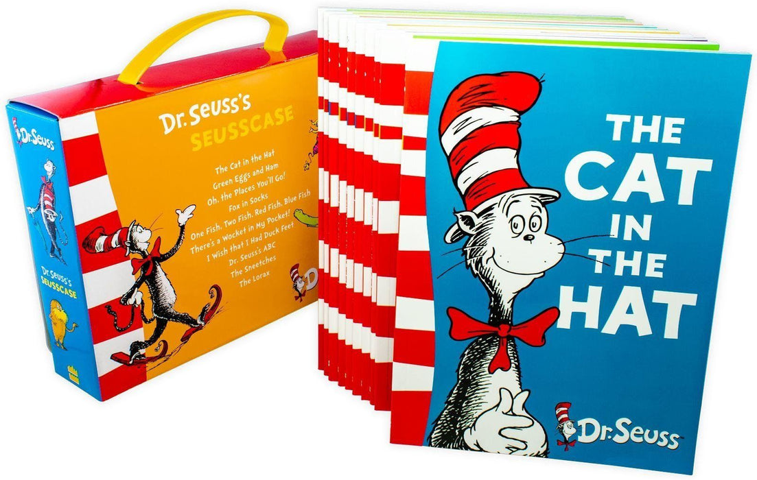 Dr Seuss Seusscase Collection 10 Books - Books2Door