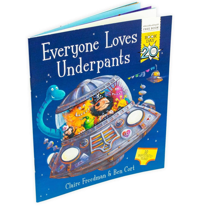 Everyone Loves Underpants - World Book Day 2017 - Books2Door