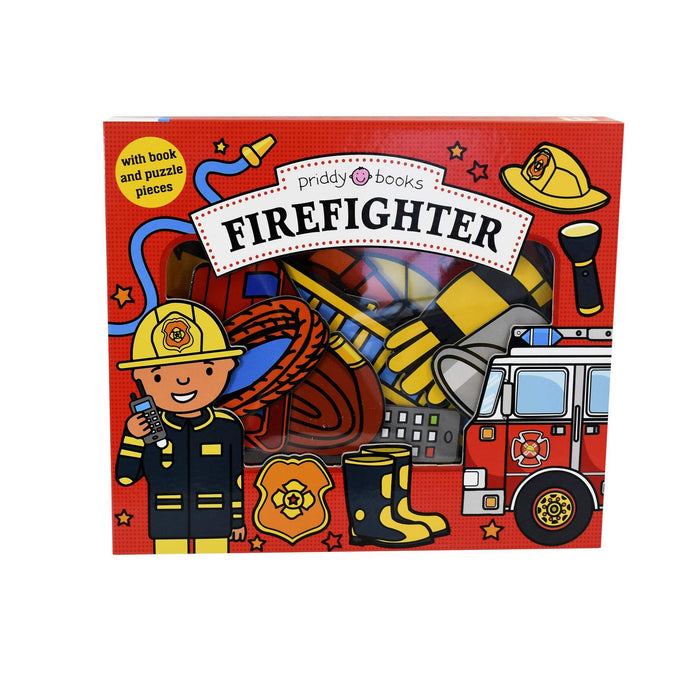 0-5 - Firefighter Lets Pretend - Ages 0-5 - Board Book - Priddy Books