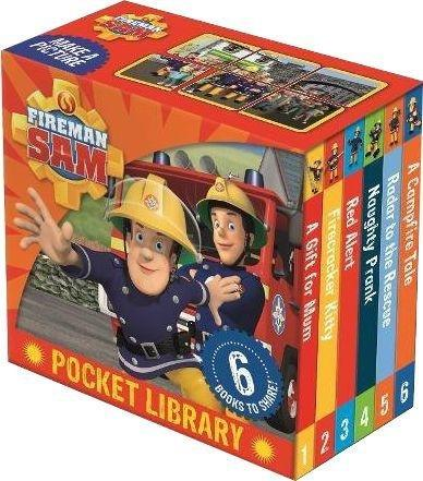 Fireman Sam Pocket Library 6 Books - Books2Door