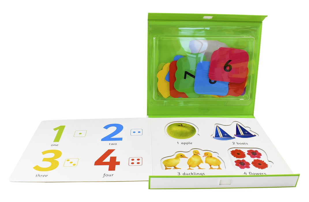 0-5 - First Learning Numbers Play Set - Ages 0-5 - Board Book - Priddy Books