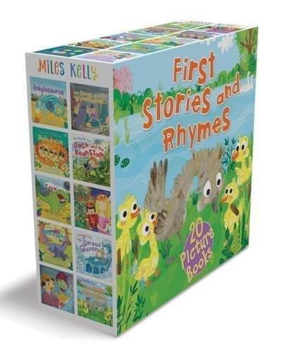 First Stories & Rhymes 20 Picture Books - Ages 0-5 - Paperback - Miles Kelly - Books2Door