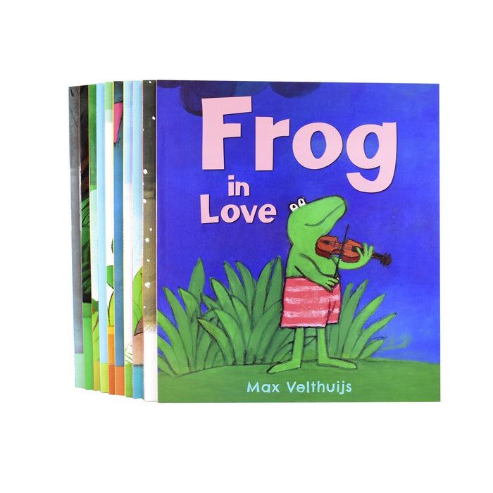 0-5 - Frog Series 10 Picture Books Collection - Ages 0-5 - Paperback Set By Max Velthuijs