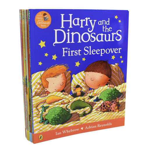 0-5 - Harry And The Bucketful Of Dinosaurs Collection 10 Book Set - Ages 0-5 - Paperback - Ian Whybrow