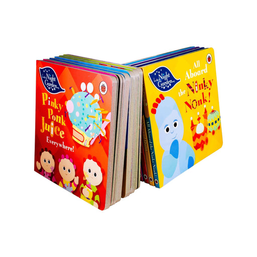 In the Night Garden 10 Book Collection - Ages 0-5 - Board Books - Books2Door