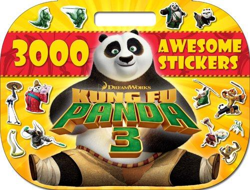 0-5 - Kung Fu Panda 3 Megatastic 3000 Awesome Stickers - Age 0-5 - Paperback