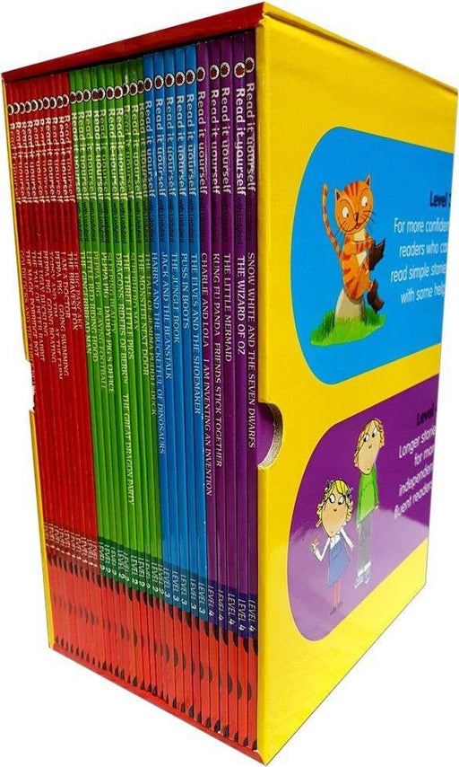Ladybird Read It Yourself Collection - 30 Books - Books2Door