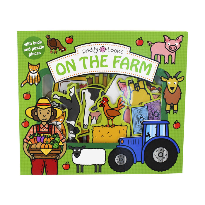 Lets Pretend On The Farm - Ages 0-5 - Board Book - Priddy Books 0-5 Priddy Books