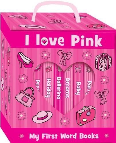 0-5 - Look And Learn Boxed Set - I Love Pink My First Word Books - Age 0-5 - Board Books