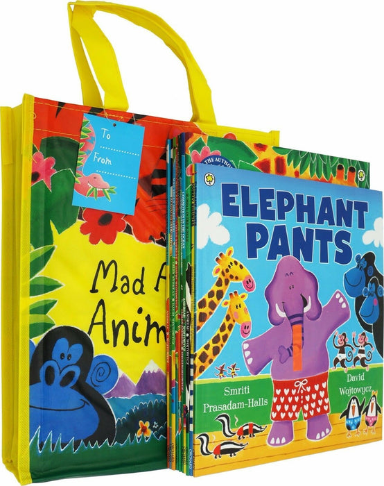 0-5 - Mad About Animals! Collection 10 Books In A Bag - Paperback - Age 0-5
