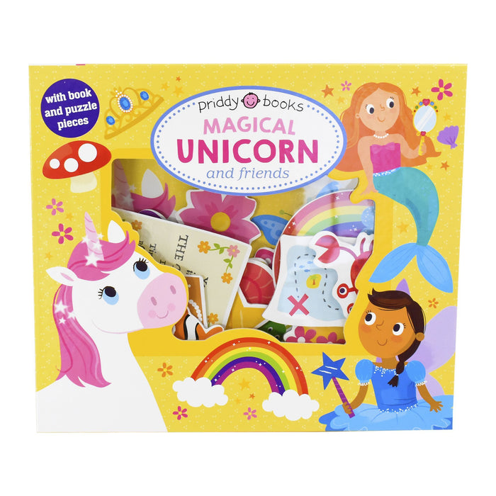 0-5 - Magical Unicorn And Friends - Ages 0-5 - Board Book - Priddy Books
