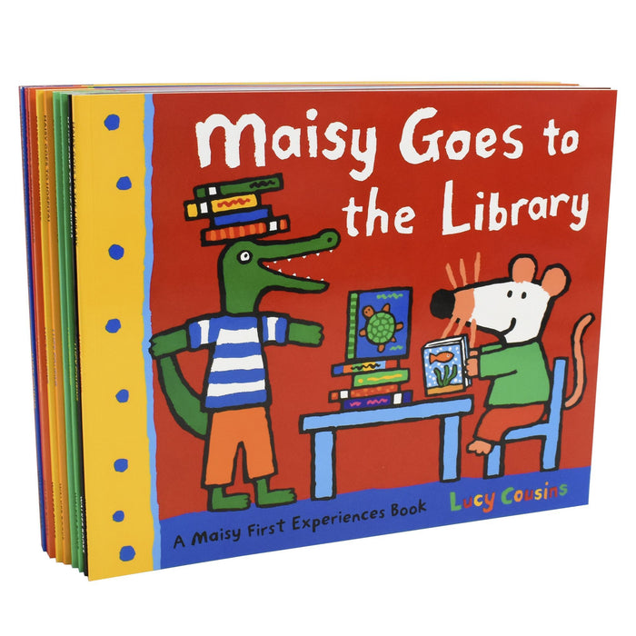 0-5 - Maisy Mouse First Experience 10 Book Collection - Ages 0-5 - Paperback - Lucy Cousins