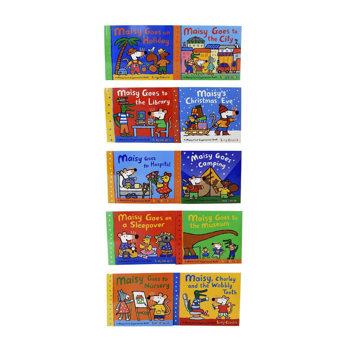 0-5 - Maisy Mouse First Experiences 10 Books Collection Pack Set By Lucy Cousins- Paperback - Age 0-5