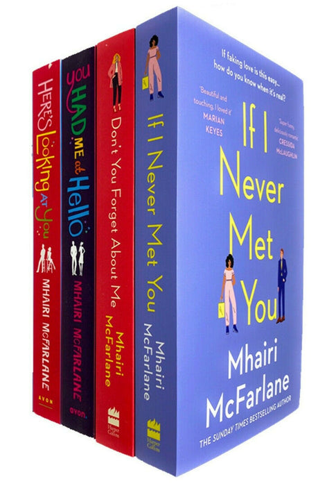 0-5 - Mhairi Mcfarlane 4 Books Collection Set You Had Me At Hello - Ages 0-5 - Paperback