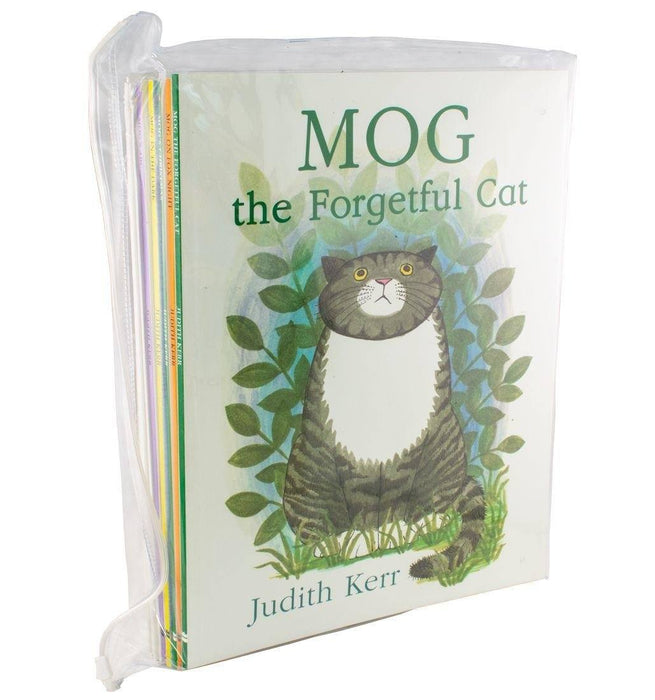Mog the Cat 10 Books Collection Set - Ages 0-5 - Paperback - Judith Kerr - Books2Door