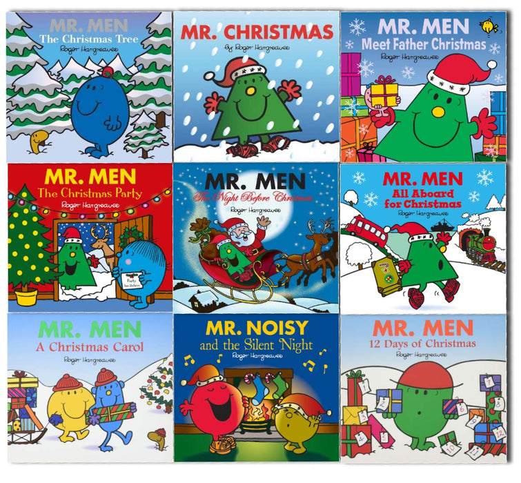 Mr Men Christmas 9 Books Collection By Roger Hargreaves 0-5 Egmont