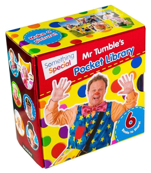 Mr. Tumble's Pocket Library 6 Board Books - Books2Door
