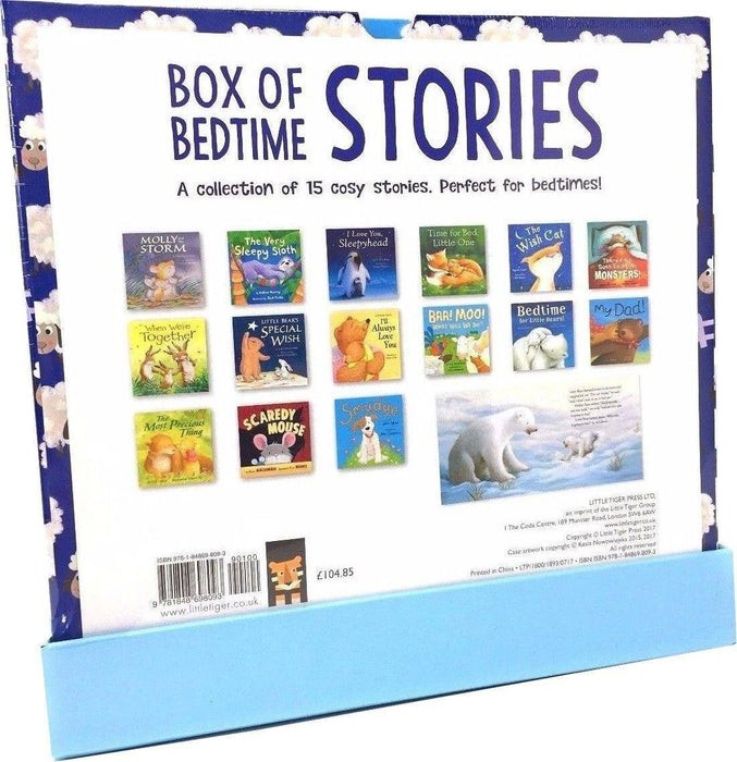 My Big Box of Bedtime Stories 15 Books Collection - Ages 0-5 - Paperback - Claire Freedman 0-5 Little Tiger Press