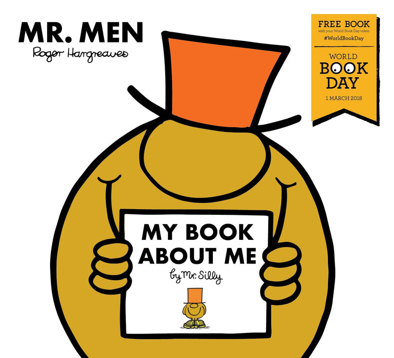 My Book about Me by Mr Silly WBD - Ages 0-5 - Paperback - Roger Hargreaves - Books2Door