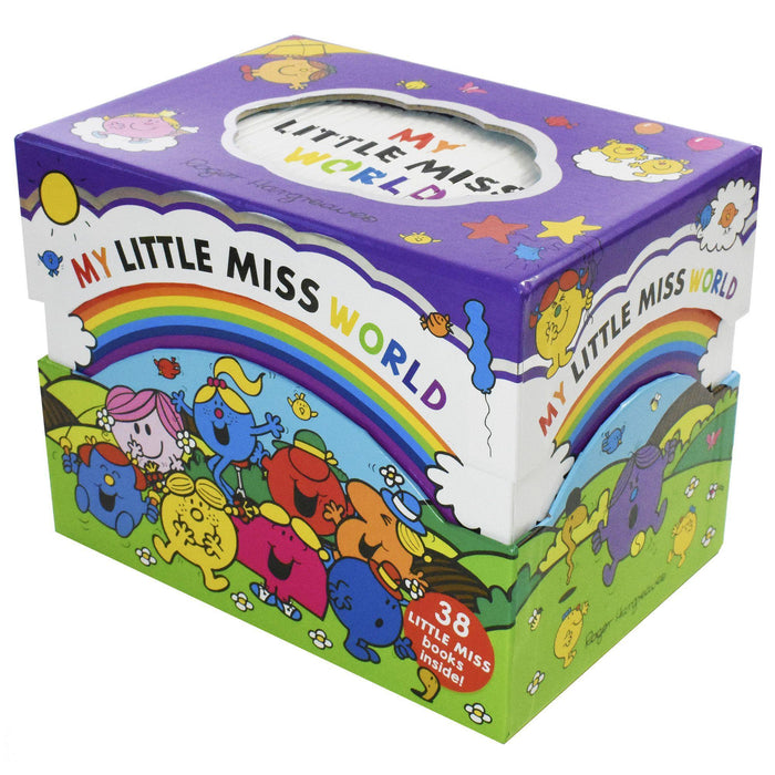 My Little Miss World Collection 38 Books - Ages 0-5 - Paperback - Roger Hargreaves 0-5 Egmont