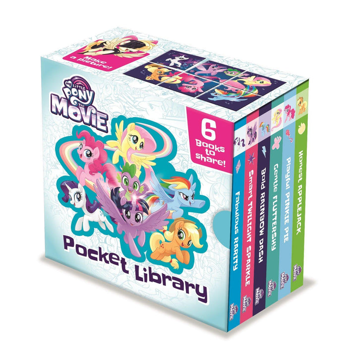 My Little Pony 6 Books - Pocket Library - Ages 0-5 - Board Books - Books2Door