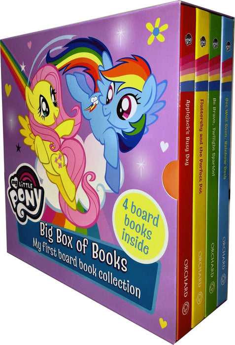 My Little Pony Big Box of 4 Board Books - Ages 0-5 - Board Books - Books2Door