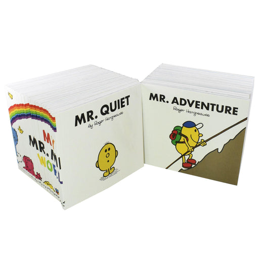 My Mr Men World Collection 52 Books - Ages 0-5 - Paperback - Roger Hargreaves - Books2Door
