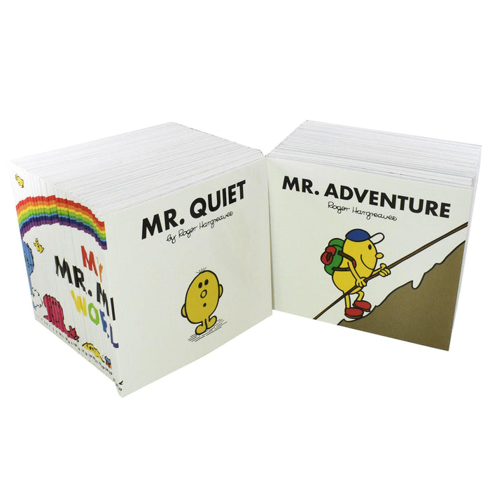 My Mr Men World Collection 52 Books - Ages 0-5 - Paperback - Roger Hargreaves 0-5 Egmont