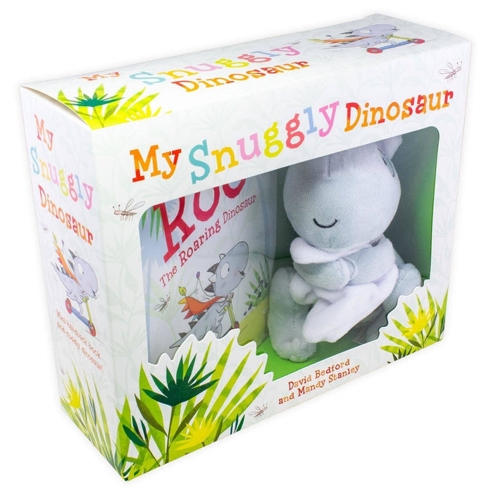 My Snuggly Dinosaur: Mini Hardback Book and Cuddly Dinosaur 0-5 Simon and Schuster