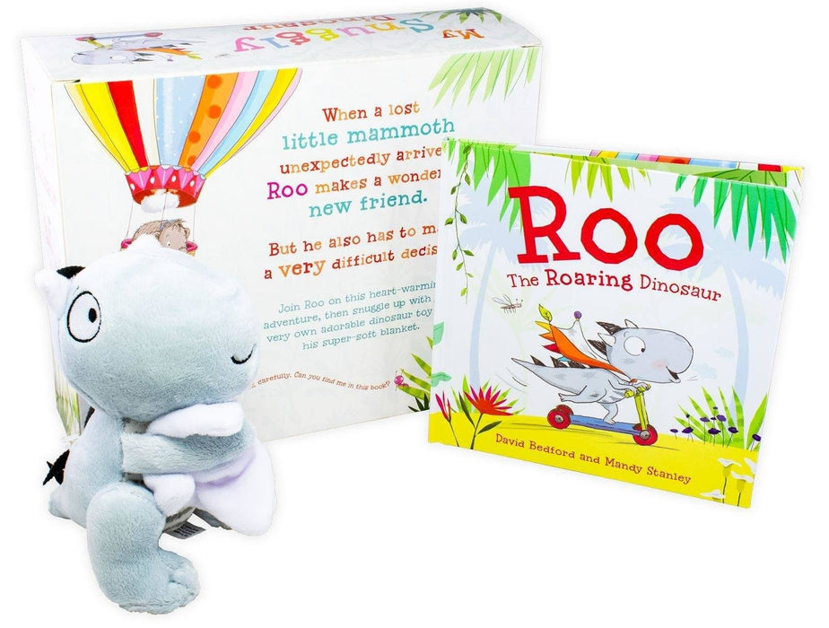 My Snuggly Dinosaur: Mini Hardback Book and Cuddly Dinosaur - Books2Door