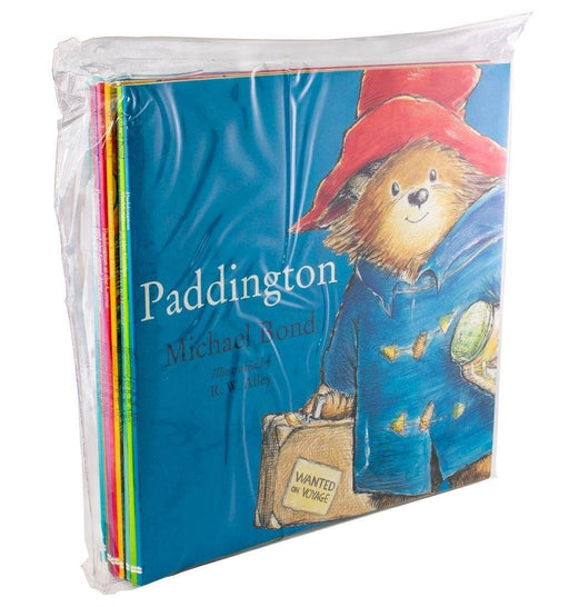Paddington Bear Collection 10 Picture Books - Ages 0-5 - Paperback - Michael Bond - Books2Door
