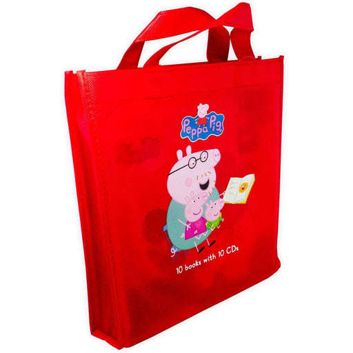 Peppa Pig 10 Books with 10 CDs - Ages 0-5 - Paperback - Neville Astley and Mark Baker - Books2Door