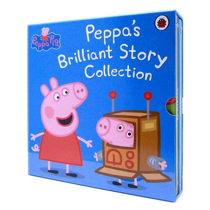 0-5 - Peppa Pig 5 Book Box Set Fun Toddler Learning Story Collection - Age 0-5 - Hardcover