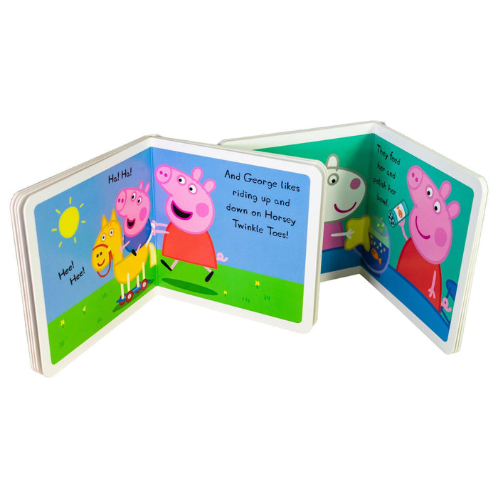 Peppa Pig Childrens Picture Flat 8 Board Books Collection - Books2Door