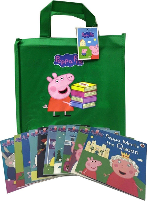 Peppa Pig Collection 10 Books Set in a Gift Bag - Ages 0-5 - Paperback - Lady Bird - Books2Door