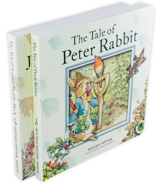 Peter Rabbit 2 Board Book Collection - Ages 0-5 - Board Books - Beatrix Potter - Books2Door