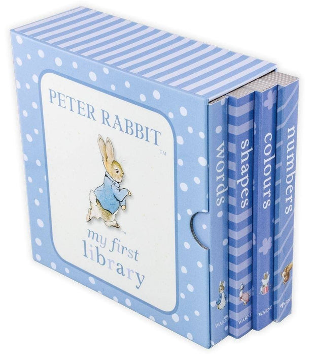Peter Rabbit: My First Library 4 Board Book Collection - Ages 0-5 - Board Books - Beatrix Potter - Books2Door