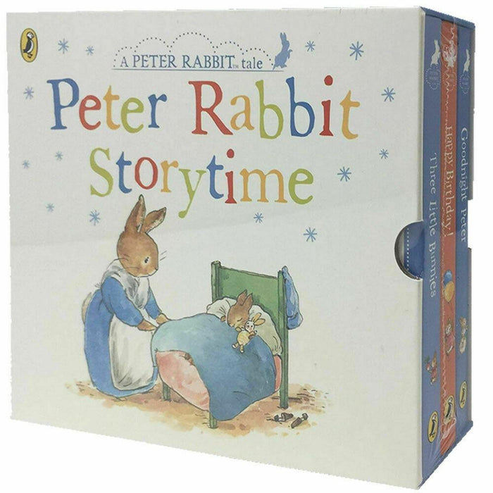Peter Rabbit Story Time 3 Book Collection - Ages 0-5 - Board Books - Beatrix Potter 0-5 Penguin