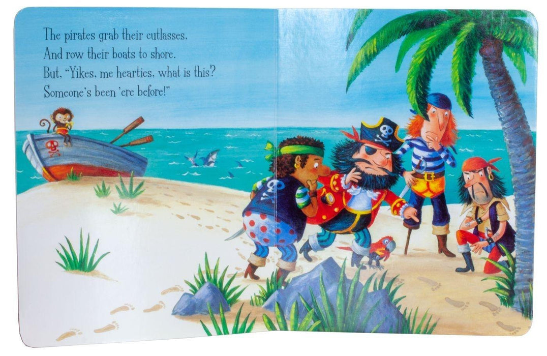 Pirates Love Underpants 3 Board Book - Ages 0-5 - Board Books - Claire Freedman & Ben Cort - Books2Door
