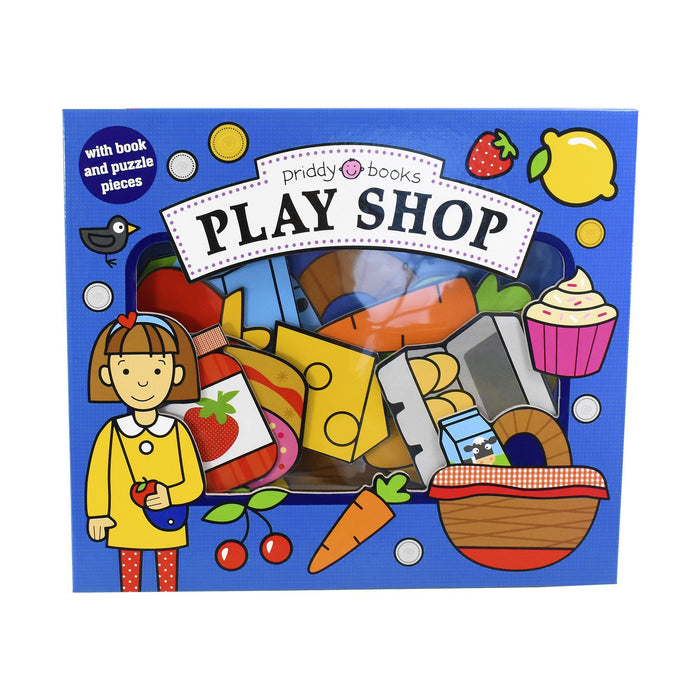 0-5 - Play Shop Lets Pretend - Ages 0-5 - Board Book - Priddy Books
