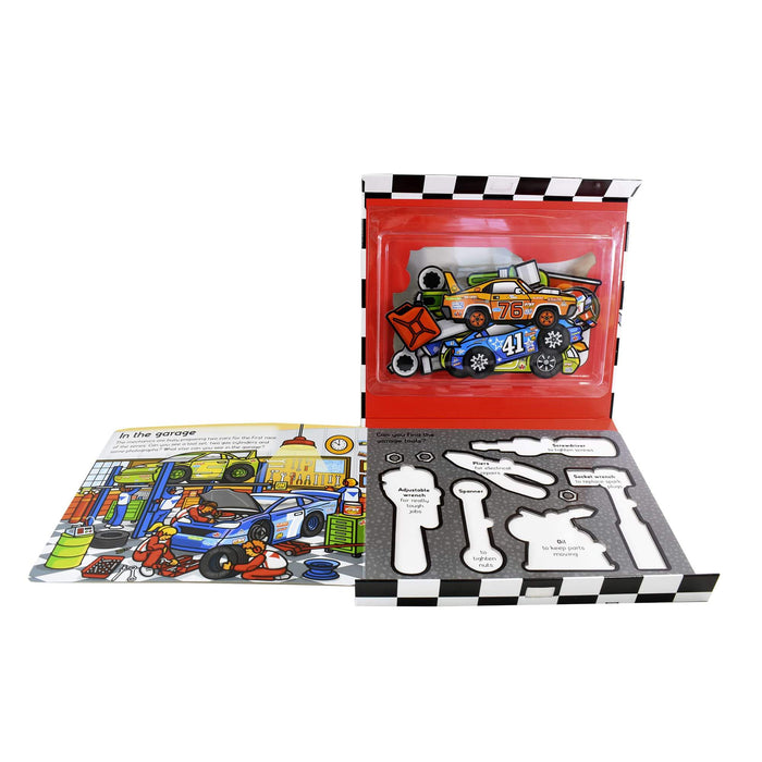 0-5 - Race Driver Set - Ages 0-5 - Board Book - Priddy Books