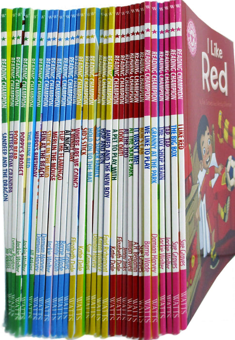 0-5 - Reading Champions For New Readers 30 Books Set (Beginners Collection Series 1) - Ages 0-5- Paperback