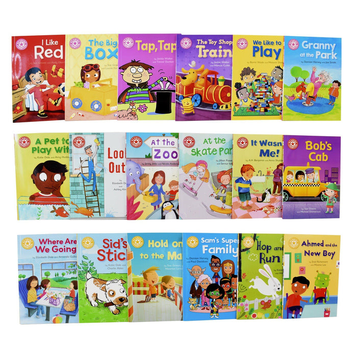 0-5 - Reading Champions For New Readers 30 Books Set Level 1 To 5 (Beginners Collection Series 1) - Ages 0-5- Paperback