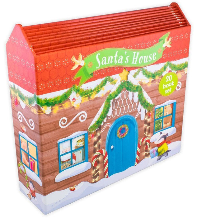 Santa's House 20 Book Set - Ages 0-5 - Paperback - Books2Door