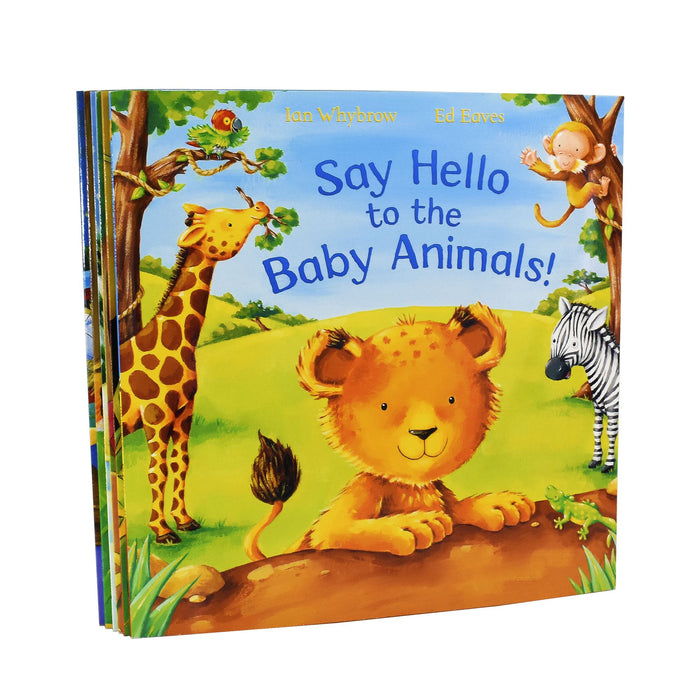 Say Hello To The Animals 6 Books Children Set - Paperback - Ages 0-5 - Ian Whybrow 0-5 Macmillan